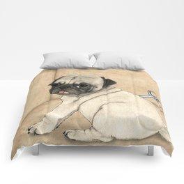 Toy dog; Pug Comforters
