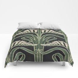 Art Nouveau Botanical Comforters
