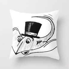 Ray from Monterey Buddies Throw Pillow