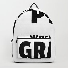 World Best Grand Paw Backpack