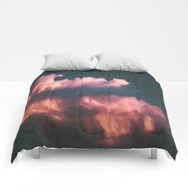 Pink Clouds Comforters