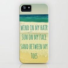 Wind In My Hair II iPhone (5, 5s) Slim Case