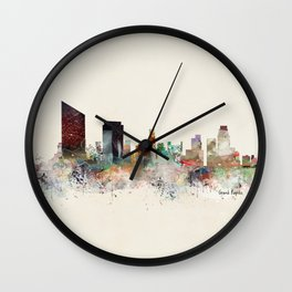 grand rapids michigan Wall Clock