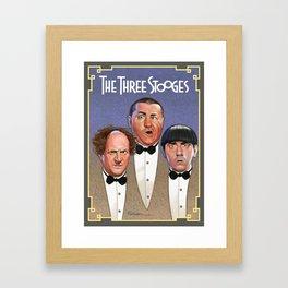 The Three Stooges Framed Art Print