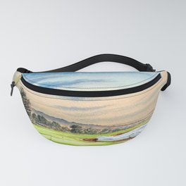 Pebble Beach Golf Course 18th Hole Fanny Pack