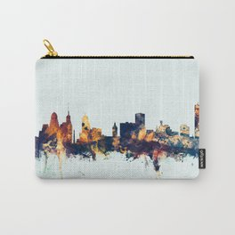 Buffalo New York Skyline Carry-All Pouch