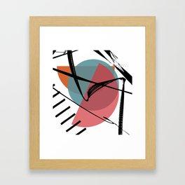 Torn Shackles Framed Art Print