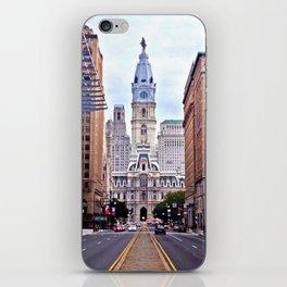 Broad Street, Philadelphia iPhone Skin