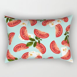Caprese #society6 #decor #pattern Rectangular Pillow