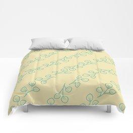 breezy leaves Comforters