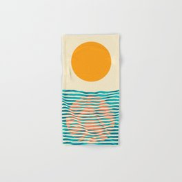 Ocean current Hand & Bath Towel