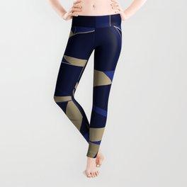 3D Futuristic GEO IX Leggings