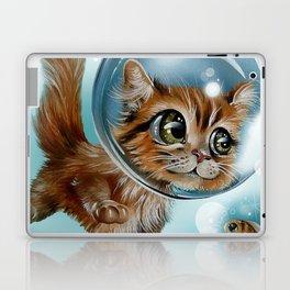 swimming charly Laptop & iPad Skin