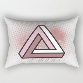 Impossible Triangle Rectangular Pillow