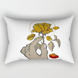 If You Need Anyone (w/ red petal) Rectangular Pillow