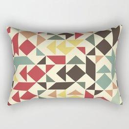 Christmas geometric pattern Rectangular Pillow