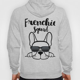 Frenchie Squad Cute French Bulldog Hoody
