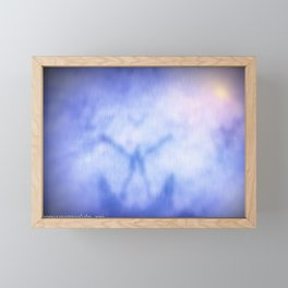 To Merge With Source Framed Mini Art Print