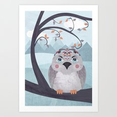 Whimsical Bird Art Print