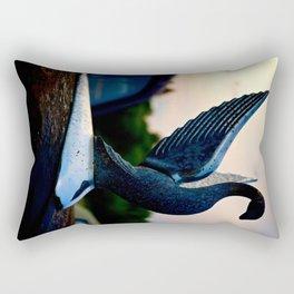 Packard Swan Rectangular Pillow