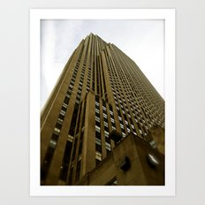 Rockefeller Building Art Print