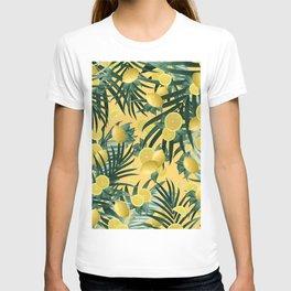 Summer Lemon Twist Jungle #3 #tropical #decor #art #society6 T-shirt