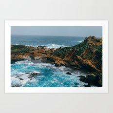 Big Sur Coast Art Print