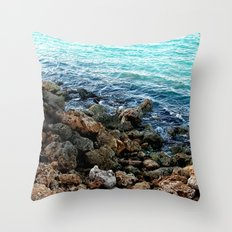 Layers in nature Throw Pillow