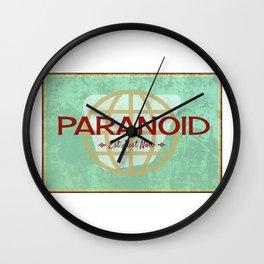 Paranoid Wall Clock