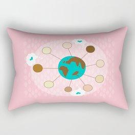 celebrating women international day Rectangular Pillow