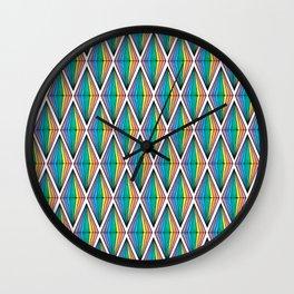 Rainbow Plumbobs Wall Clock