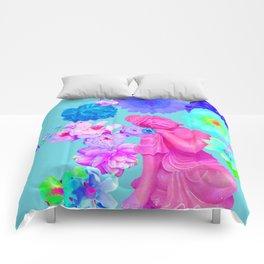 Pink Buddha Comforters