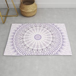 Purple Mandala Rug