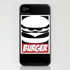 Obey Burger iPhone (4, 4s) Slim Case