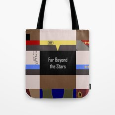 DS9 - Far Beyond the Stars - Minimalist Star Trek DS9 Deep Space Nine - startrek - Trektangles Tote Bag