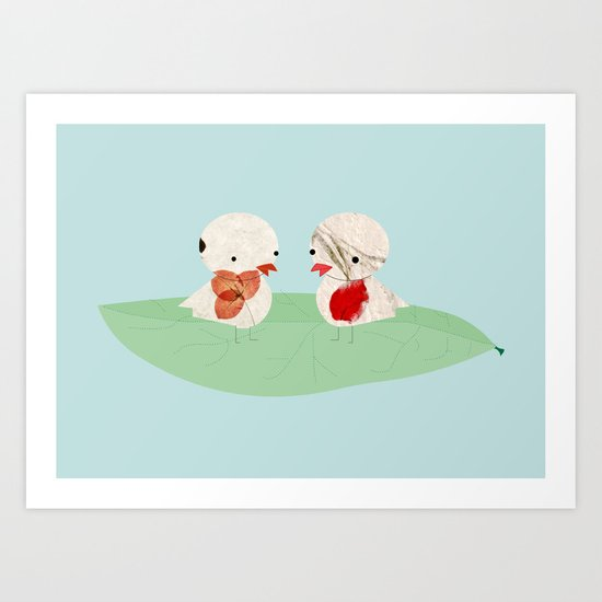 Pio pio Art Print