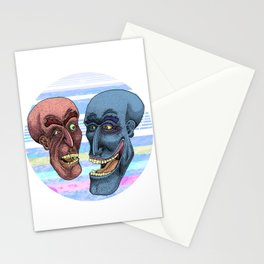 Martian Brawlers  Stationery Cards