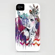 Tribal Girl  Slim Case iPhone (4, 4s)