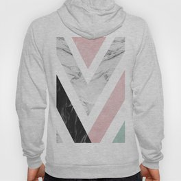 Art with marble VII Hoody