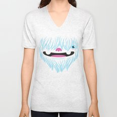 Happy Yeti Unisex V-Neck
