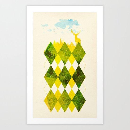 Elegant Forest Art Print