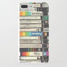 VHS Stack iPhone 7 Plus Slim Case