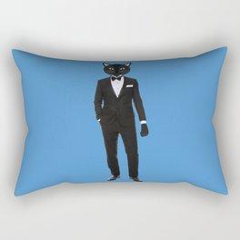Gentleman Cat in Tuxedo suit Rectangular Pillow
