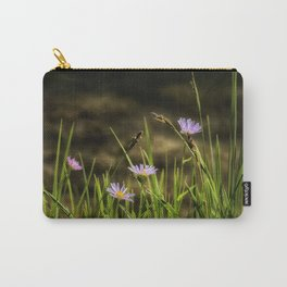 Lavender Aster Carry-All Pouch