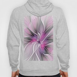 A Blooming Dream, Abstract Fractal Art Hoody