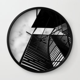 Elements No.2 Wall Clock