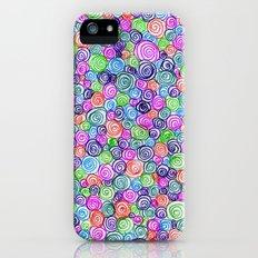 Do the Twist (bright) Slim Case iPhone (5, 5s)