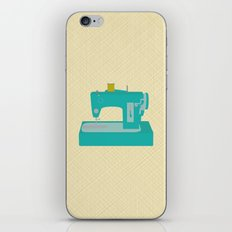 Sewing Machine iPhone & iPod Skin