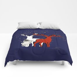 Reindeer Magic Comforters