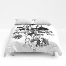 #Inktober 2016 Compilation Comforters